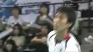 ワールドリーグ 2008 日本vsポーランド 第1セット