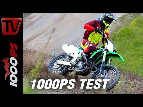Alles neu beim grünen Monster! Kawasaki KX450F Test.
