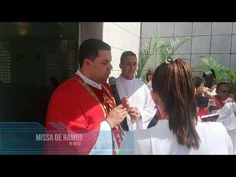 Missa de Ramos - Paróquia São Miguel Arcanjo