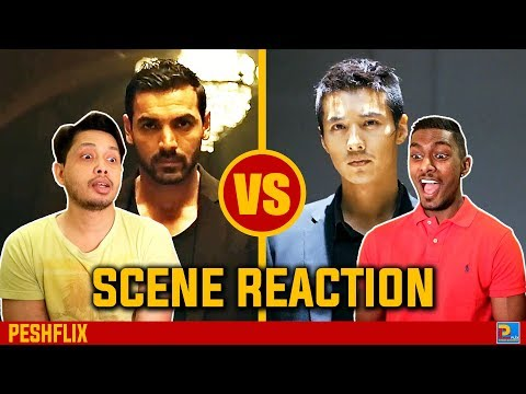 Rocky Handsome vs The Man From Nowhere | Fight Scene Reaction | PESHFlix Entertainment