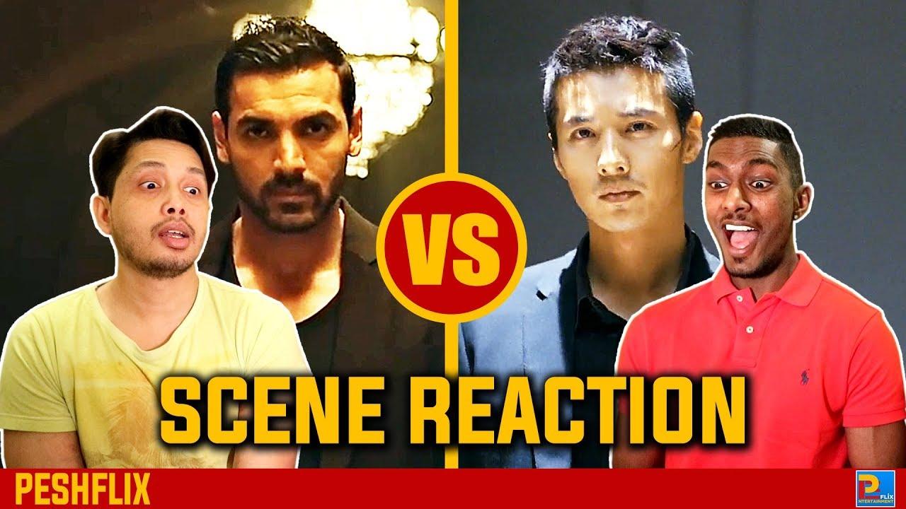 Download Rocky Handsome vs The Man From Nowhere   Fight Scene Reaction   John Abraham vs Won Bin   PESHFlix