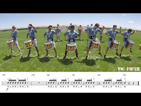 2018 Blue Knights Snares - LEARN THE MUSIC to