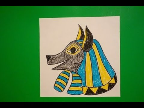 How To Draw Egyptian Art Step By Step