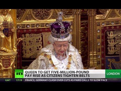 Queen's Speech: Monarch to get huge pay rise as Brits tighten belts