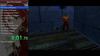 The Scorpion King: Rise of the Akkadian speedrun (NG+) (2:46:25)