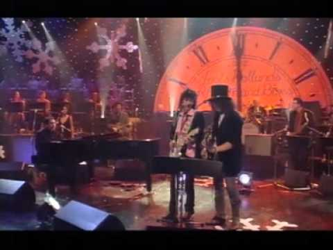 "Slash with Ron Wood: ""Little Queenie"" (live Jools Holland Show 2001)"