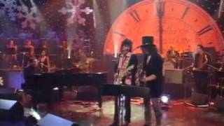 """Slash with Ron Wood: """"Little Queenie"""" (live Jools Holland Show 2001)"""