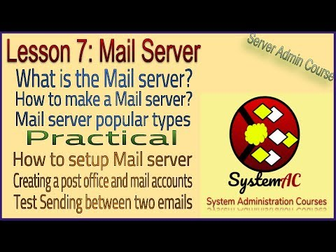 lesson 7 | What is the Mail Server | mail server basics