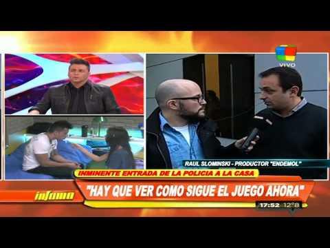 La Policía llegó a la Casa para notificar a Mariano