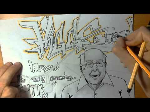 lets draw graffiti - higgs boson cern (part 3/5) #006