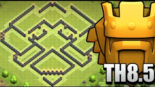 Clash of Clans : Town Hall 8.5 (TH8.5) War/Trophy Base