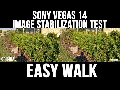 Vegas Pro 14 Image Stabilization [TEST]
