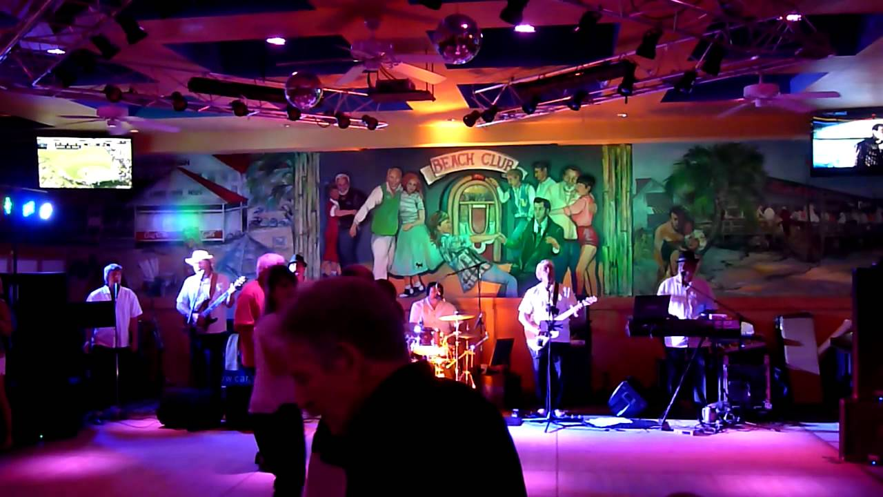 The Carolina Breakers Brown Eyed Cover Hd Od Bar Grill North Myrtle Beach Sc