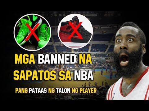 Ang Banned Na Sapatos sa NBA