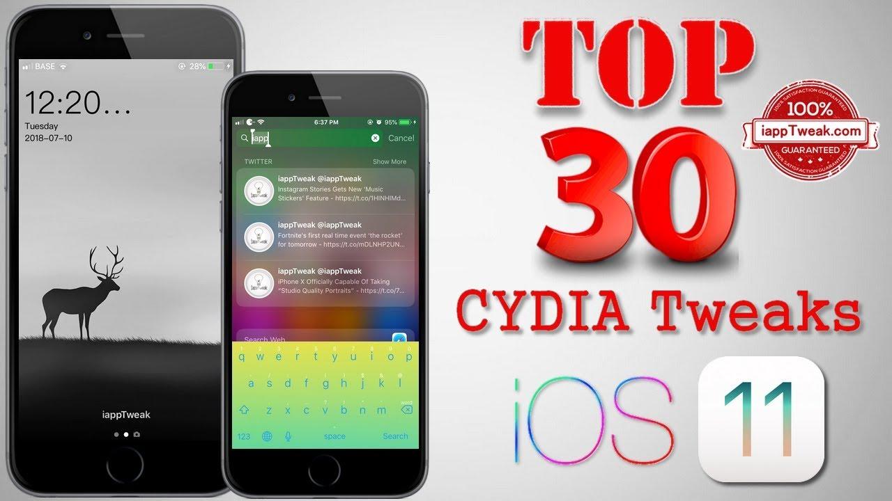 cydia best apps ios 11