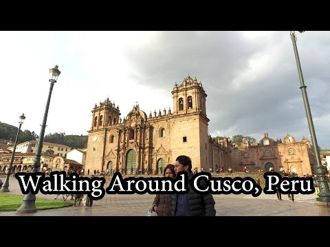 Walking around Cusco, Peru Oct 2016