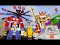 Monster School : SIRENHEAD VS ROBOTS TRANSFORMERS CHALLENGE - Minecraft Animation
