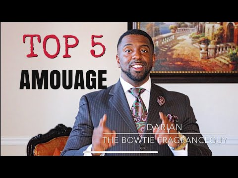 Top 5 Amouage Fragrances