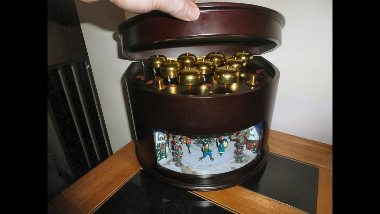 amazing music box with bell symphony and animation youtube