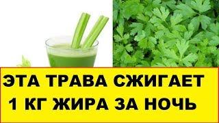 Бабушкин секрет похудения с помощью зелени