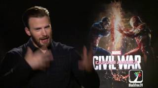 Chris Evans Captain America Civil War Interview