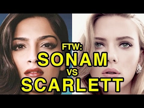 For The Win: Sonam Kapoor vs Scarlett Johansson