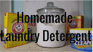 DIY Homemade Laundry Detergent-You have never seen a Laundry Detergent Video like This!