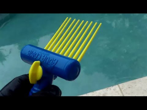 Aqua Comb Cleaning Tool For Pool And Spa Filters    Review   YouTube