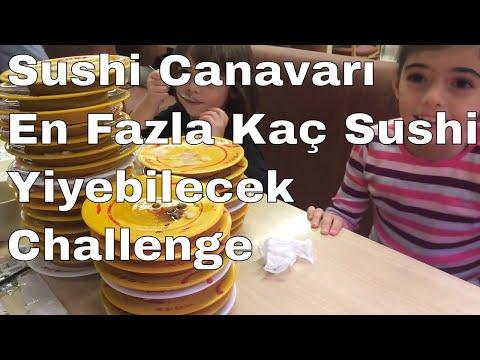 Sushi Challenge | Sushi Canavarı En Fazla Kaç Sushi Yiyebilecek