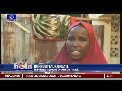 Borno Attack Update: Gudumbali Residents Seek Refuge In Maiduguri