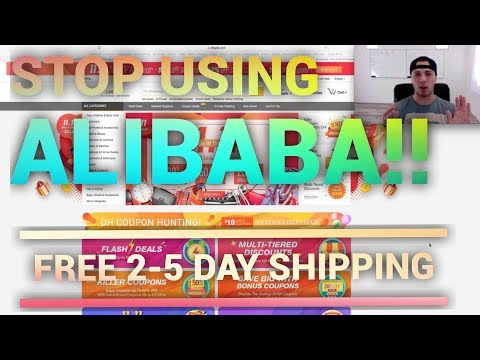 How I Find Suppliers With FREE 2-5 DAY SHIPPING For Amazon FBA Or Shopify Drop Shipping (DH Gate) thumbnail