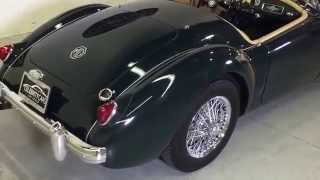 1956 MG MGA At Celebrity Cars Las Vegas