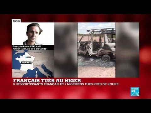 Au Niger, huit personnes, dont six Français, tuées lors d'une attaque