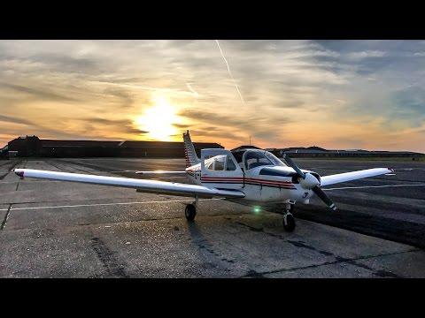 VFR Flight Vlog | PA28 Blackpool - Leicester | ATC Audio