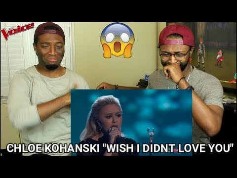 "The Voice 2017 Chloe Kohanski - Finale: ""Wish I Didn't Love You"" (REACTION)"