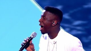 Jermain Jackman performs