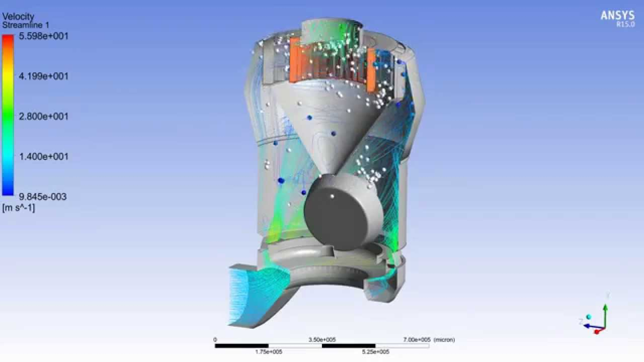 Cement Mill Operation : Vertical roller mill ansys cfd model youtube
