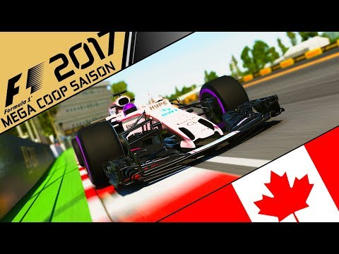 F1 2017 MEGA COOP - #0.10 [RENNEN] Montreal, Kanada | Lets Play F1 2017 Gameplay German