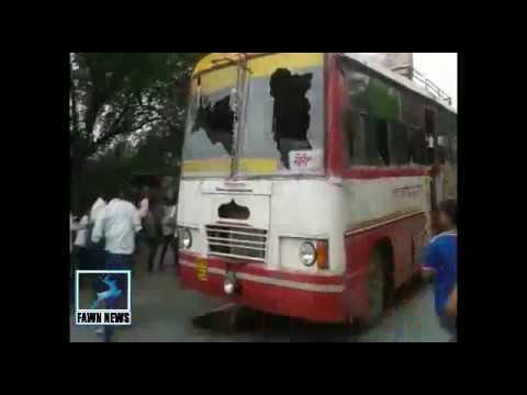 मैनपुरी में हत्या को लेकर लोगों ने किया भारी बवाल, थाने पर पथराव: Mainpuri