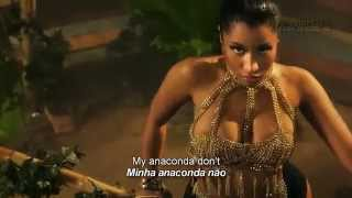 Nicki Minaj - Anaconda (Lyrics Video - LEGENDADO)(Nicki Minaj performing Anaconda on VEVO!, 2014-08-23T17:06:24.000Z)