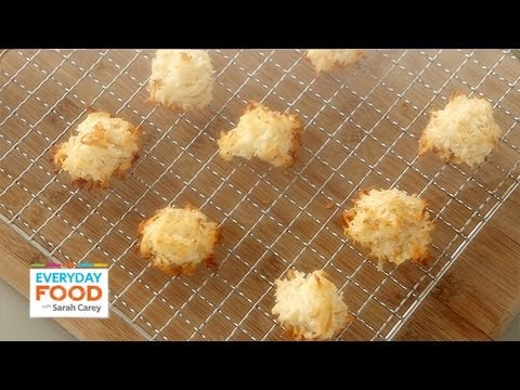 Chewy Coconut Macaroons - Everyday Food with Sarah Carey