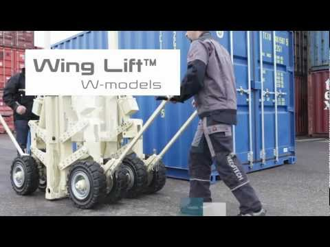 Wing Lift™ Container Carrier