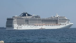 MSC Divina is a 139400 GT cruise ship owned and operated by MSC Cru...