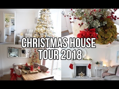 CHRISTMAS HOUSE TOUR 2018 | CHRISTMAS DECORATION IDEAS AND INSPIRATION