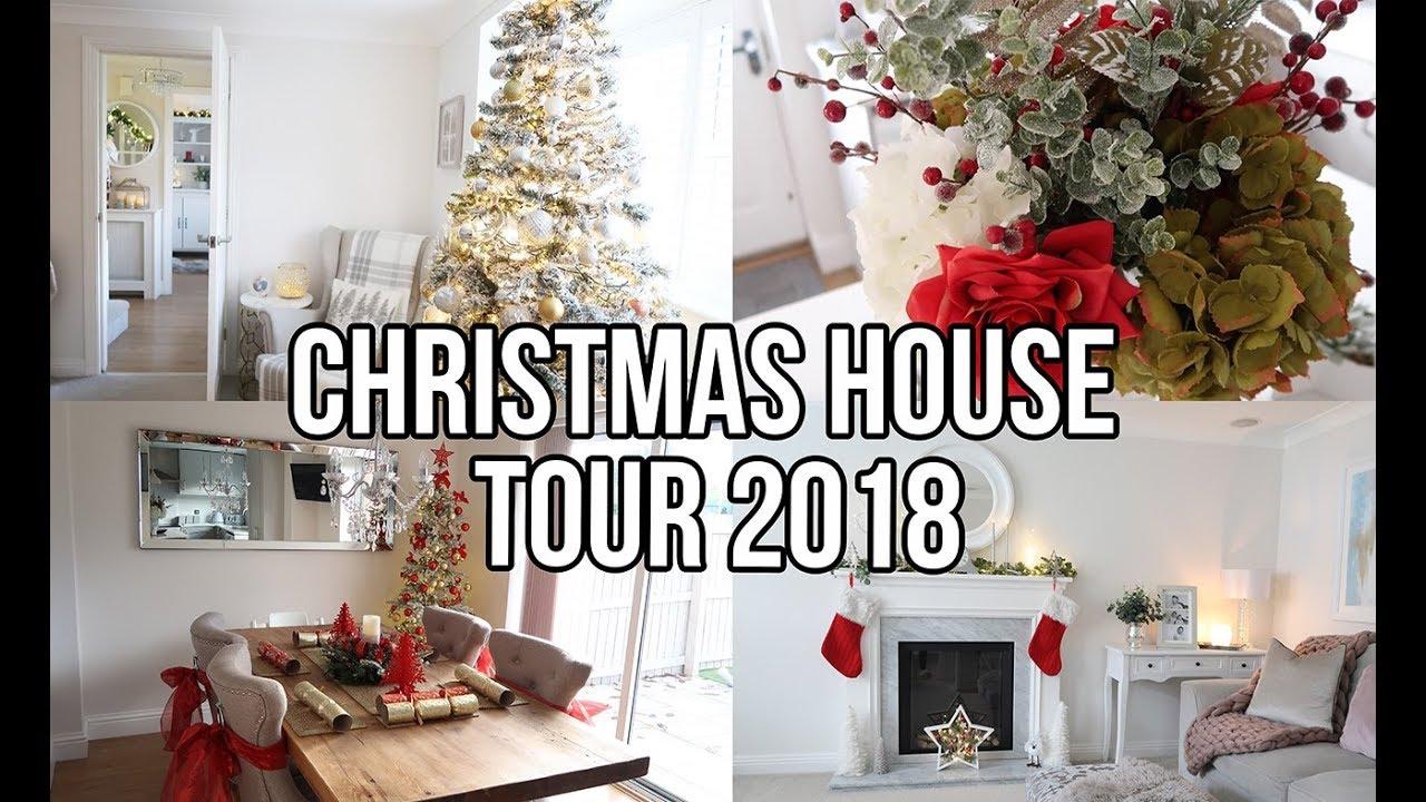 Christmas House Tour 2018 Christmas Decoration Ideas And