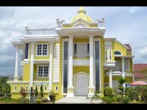 Desain Rumah Bergaya Mediterania Klasik - YouTube