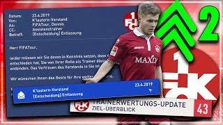 FIFA 19: NACH 9 MONATEN ENTLASSEN !! 😳🤕🔥 DAS ENDE...??| Kaiserslautern Karriere #2