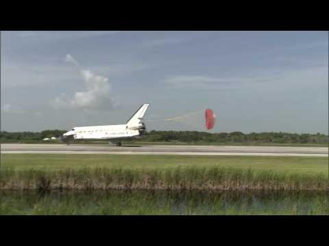 STS - 127 Landing Replay - SLF Midfield (TV-33) - HD