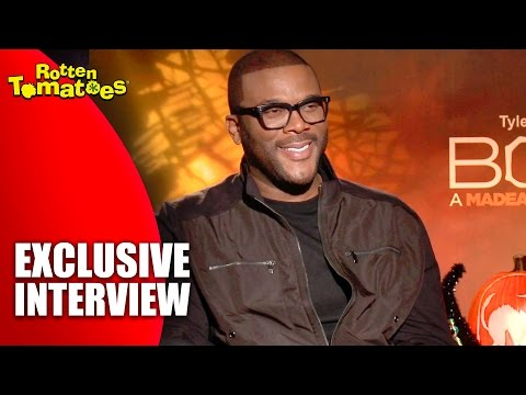 What Scares Tyler Perry? - Exclusive 'Boo! A Madea Halloween' Interview (2016)