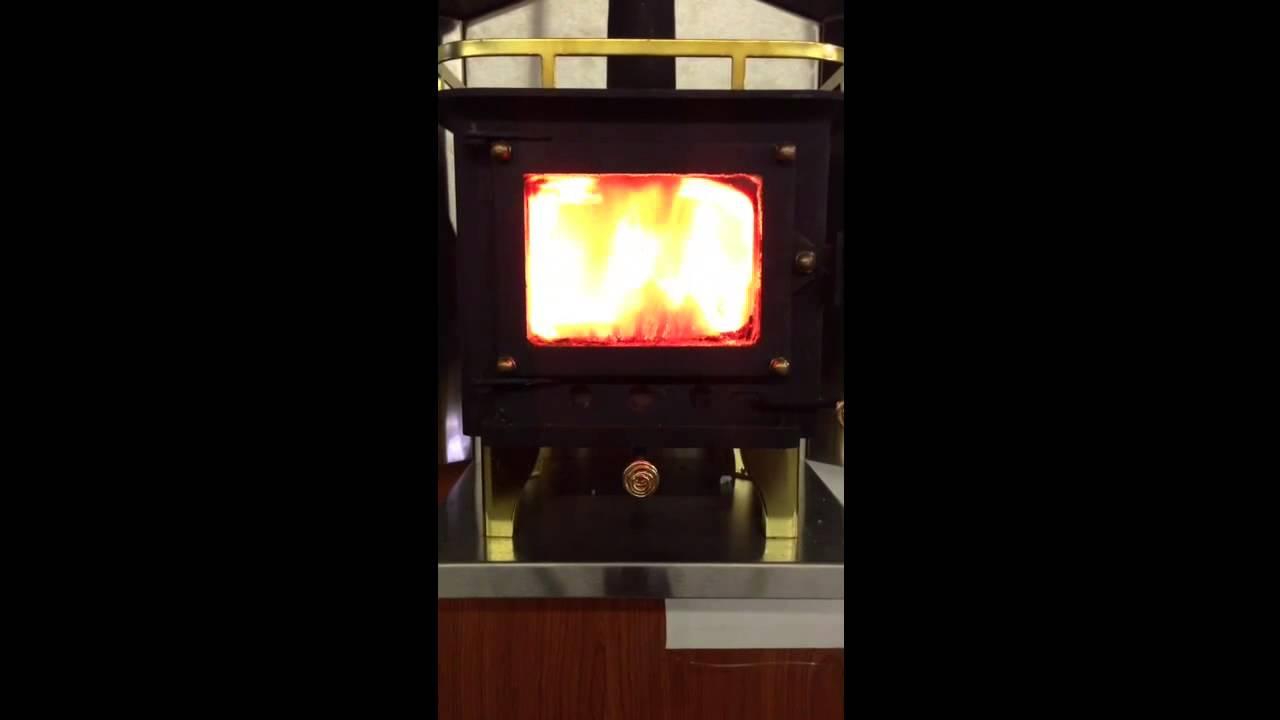 Cubic mini wood stove - Cubic Mini Wood Stove - YouTube